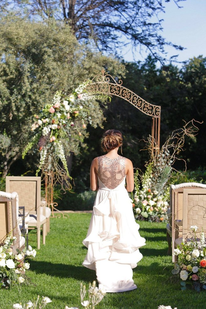 Party Pleasers Vintage Iron Arch