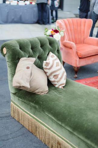 partypleasersblog.wordpress.com, green velvet chaise