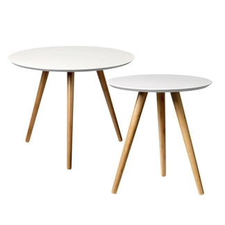 partypleasersblog@wordpress.com BAMBOO NATURAL AND WHITE SIDE TABLE