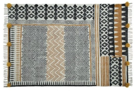 partypleasersblog@wordpress.com, black and gold rug