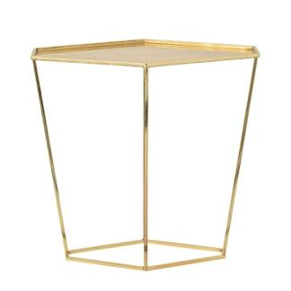 partypleasersblog@wordpress.com, GOLD DIAMOND SHAPE SIDE TABLE