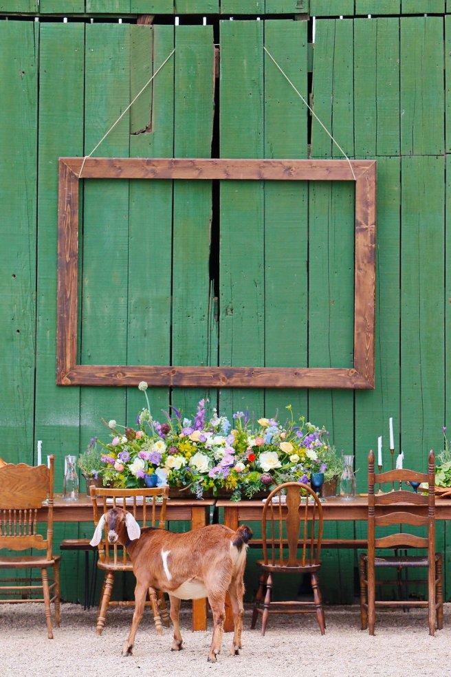 partypleasersblog@wordpress.com, wood farm table, wood vintage chairs
