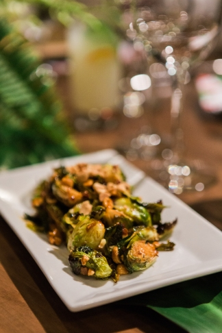 partypleasersblog.wordpress.com, pop up dinner, white ceramic platter